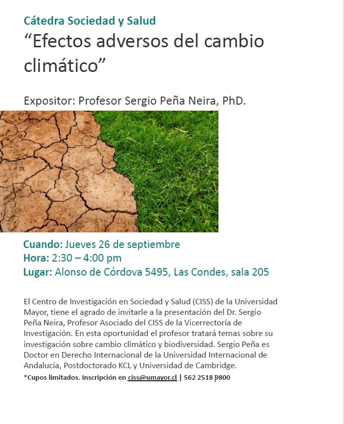 Invitación Catedra Sys Sergio Peña