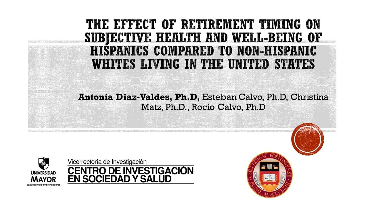 Effect Of Retirement On Hw